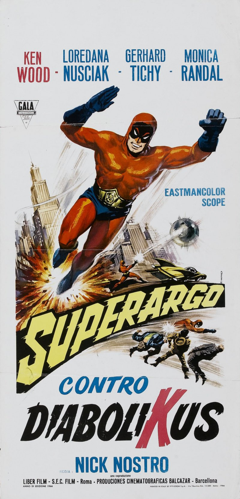 Постер Суперарго против Диаболикуса