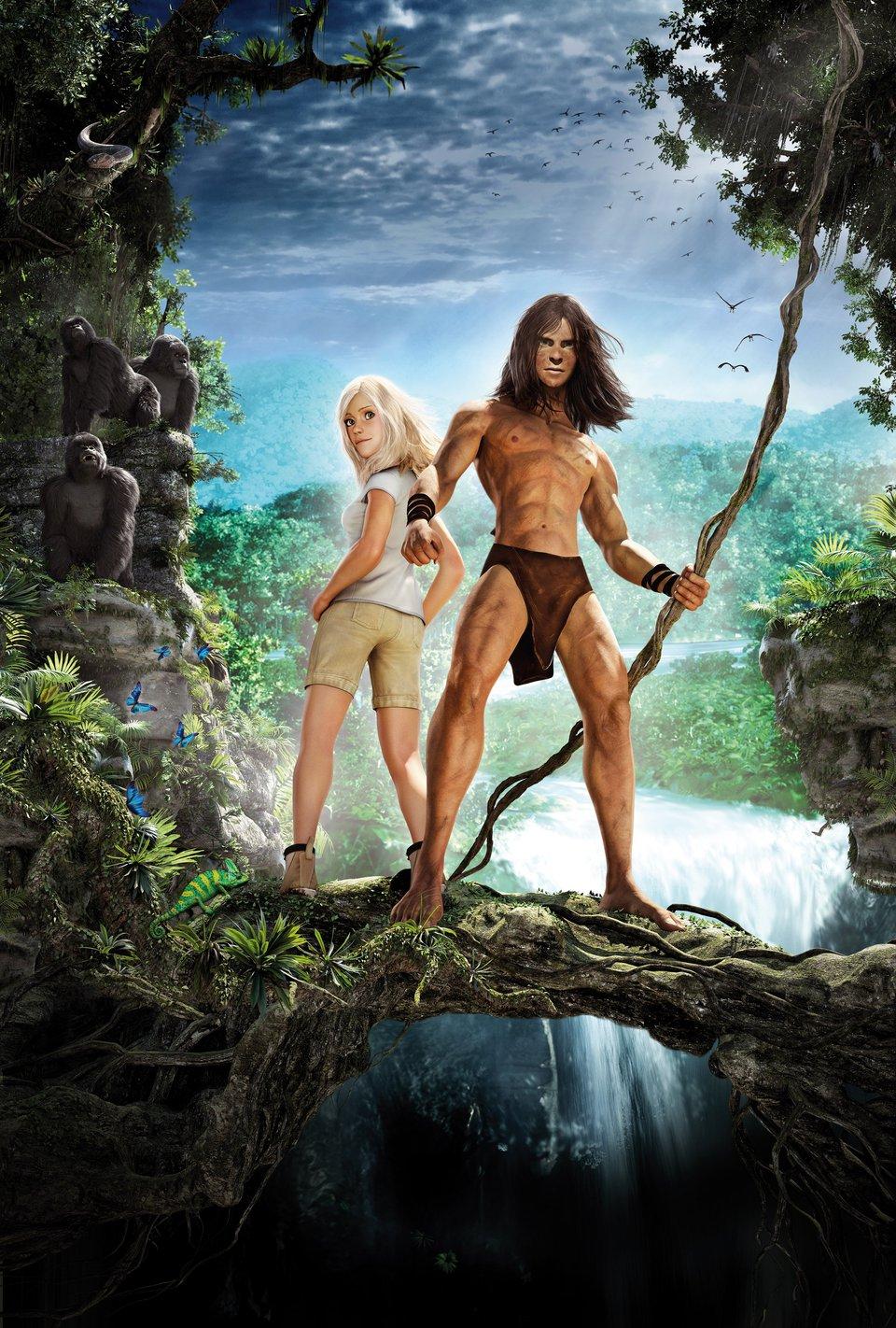 Постер Тарзан. oKino.ua - все о кино, ежедневное интернет издание.