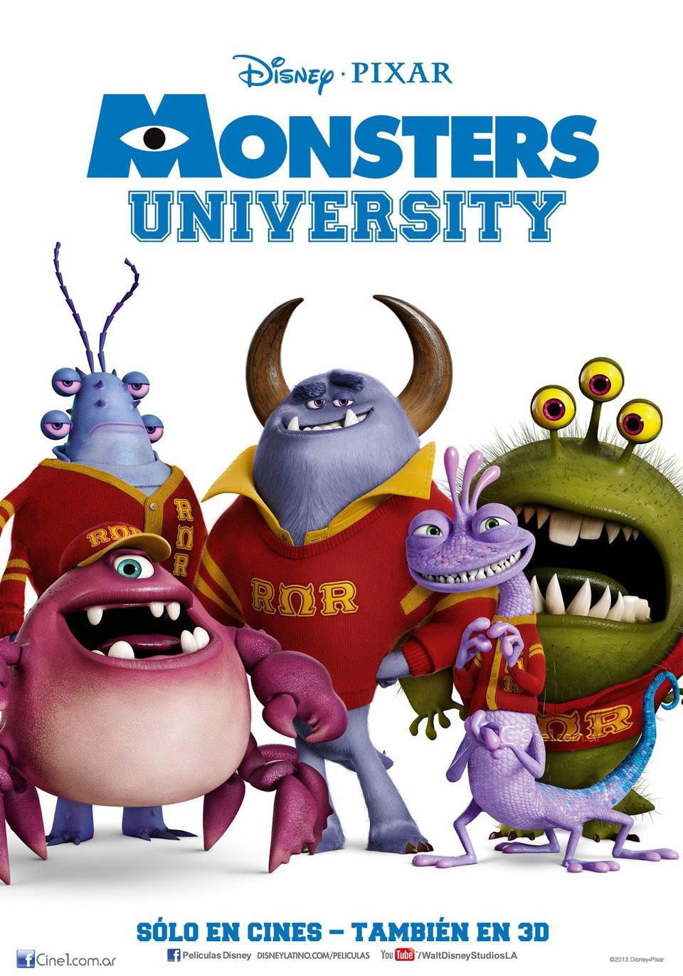 «Университет Монстров» — 2013