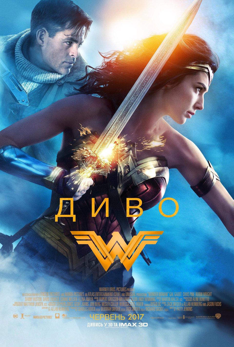 Постер Чудо-женщина