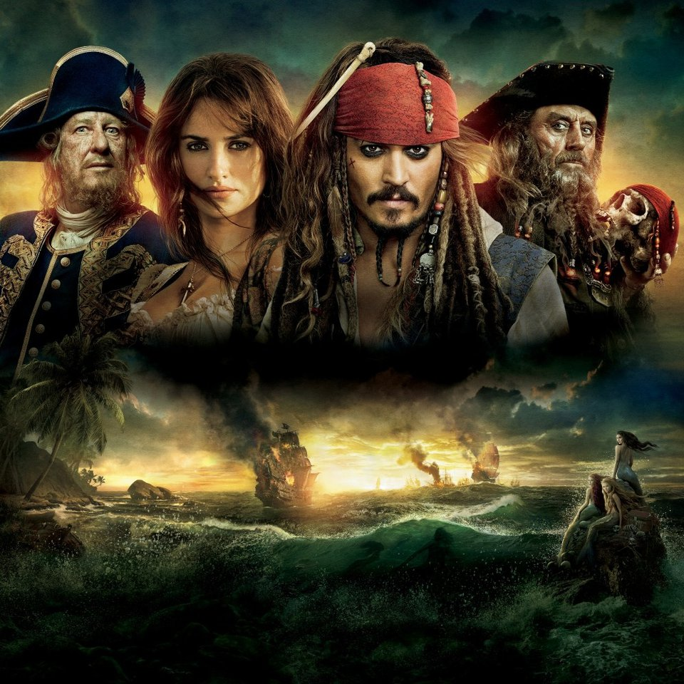 Пираты карибского моря на странных берегах смотреть онлайн