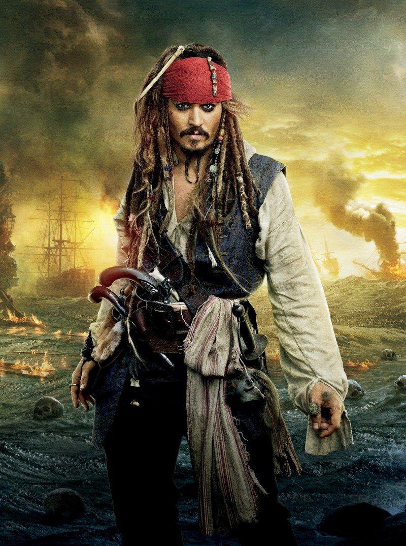 Постеры к фильму Пираты Карибского моря 4: На странных ... джонни депп не будет сниматься в пиратах
