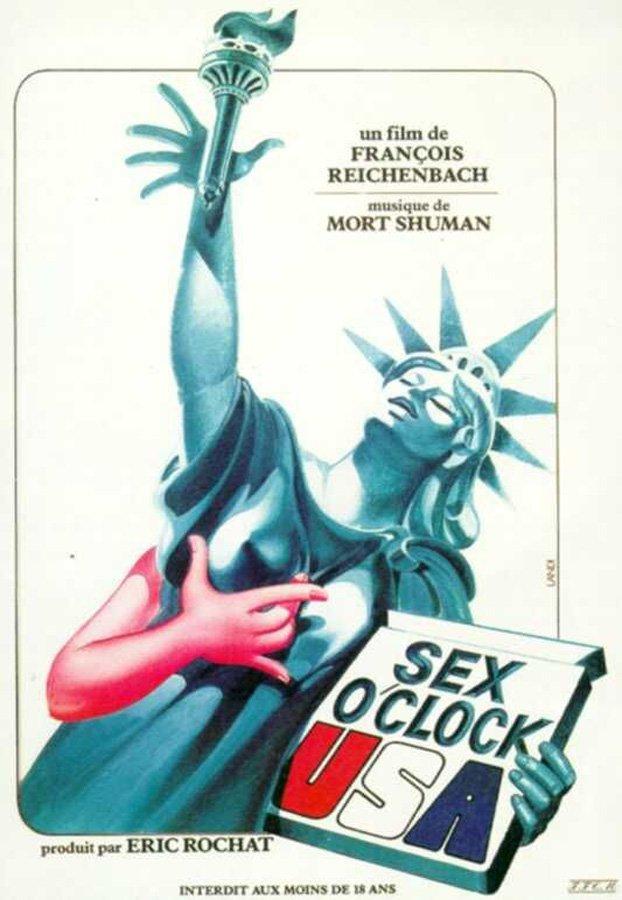 Постер Sex O'Clock U.S.A.