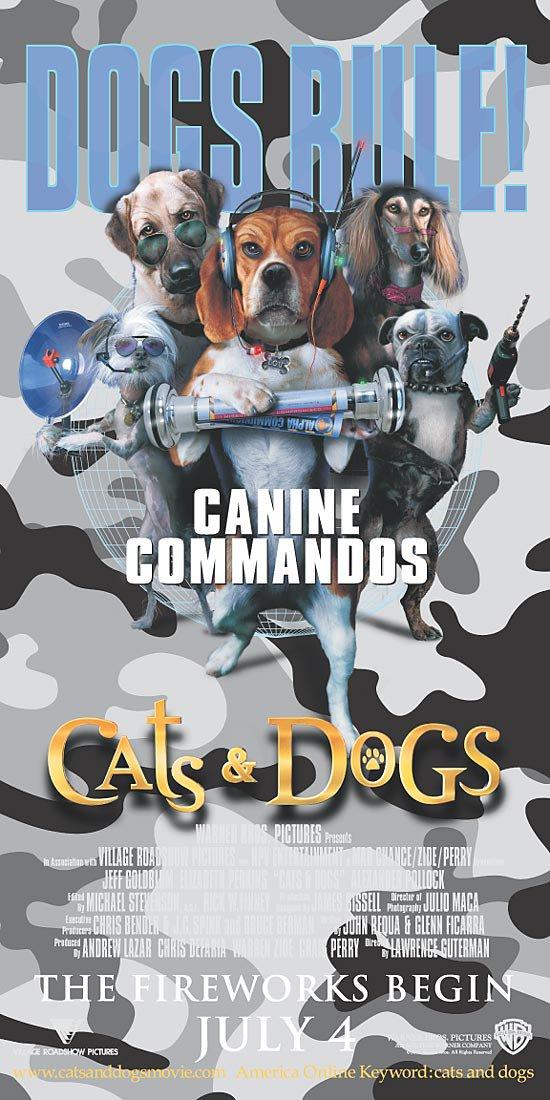 «Смотреть   Онлайн Фильм Кошки Против Собак 2» — 2005