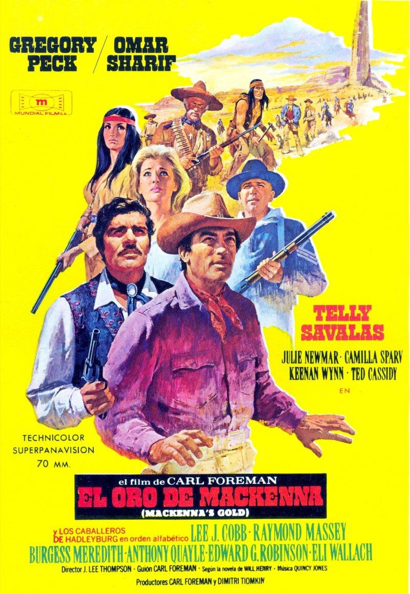 «Золото Маккенны» — 1969