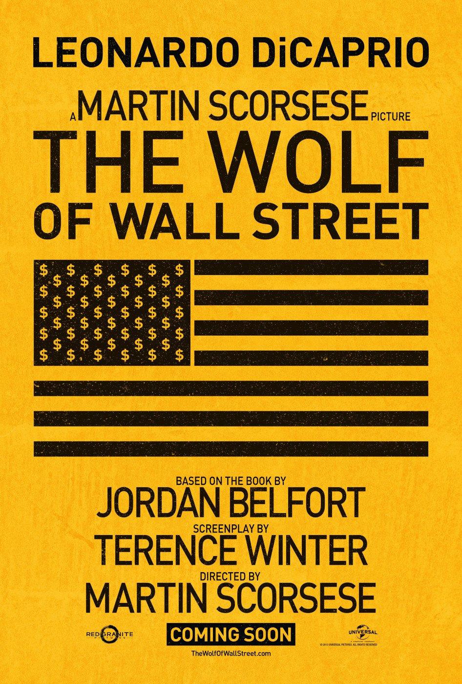 «Волк С Уолл-стрит» — 2013