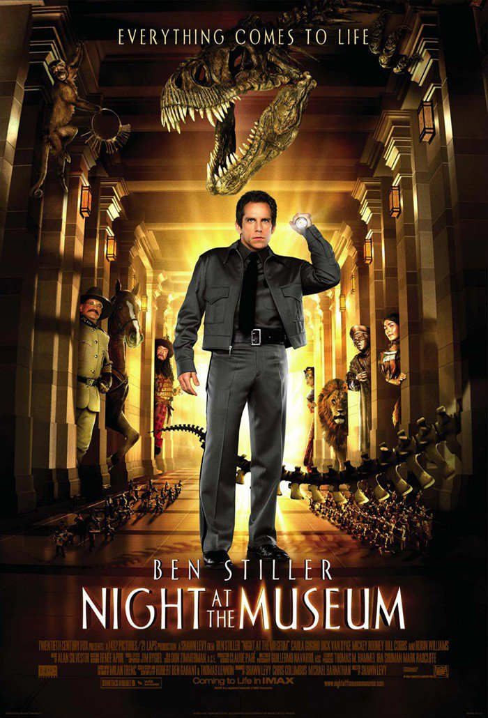 Постер Ночь в музее