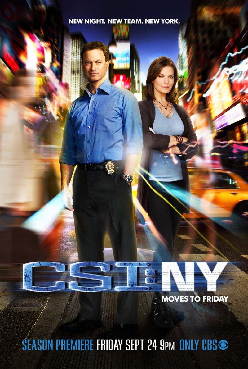 Постер CSI: Место преступления Нью-Йорк