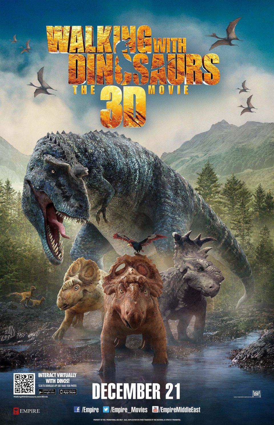 Прогулка с динозаврами 3d 19 фотография