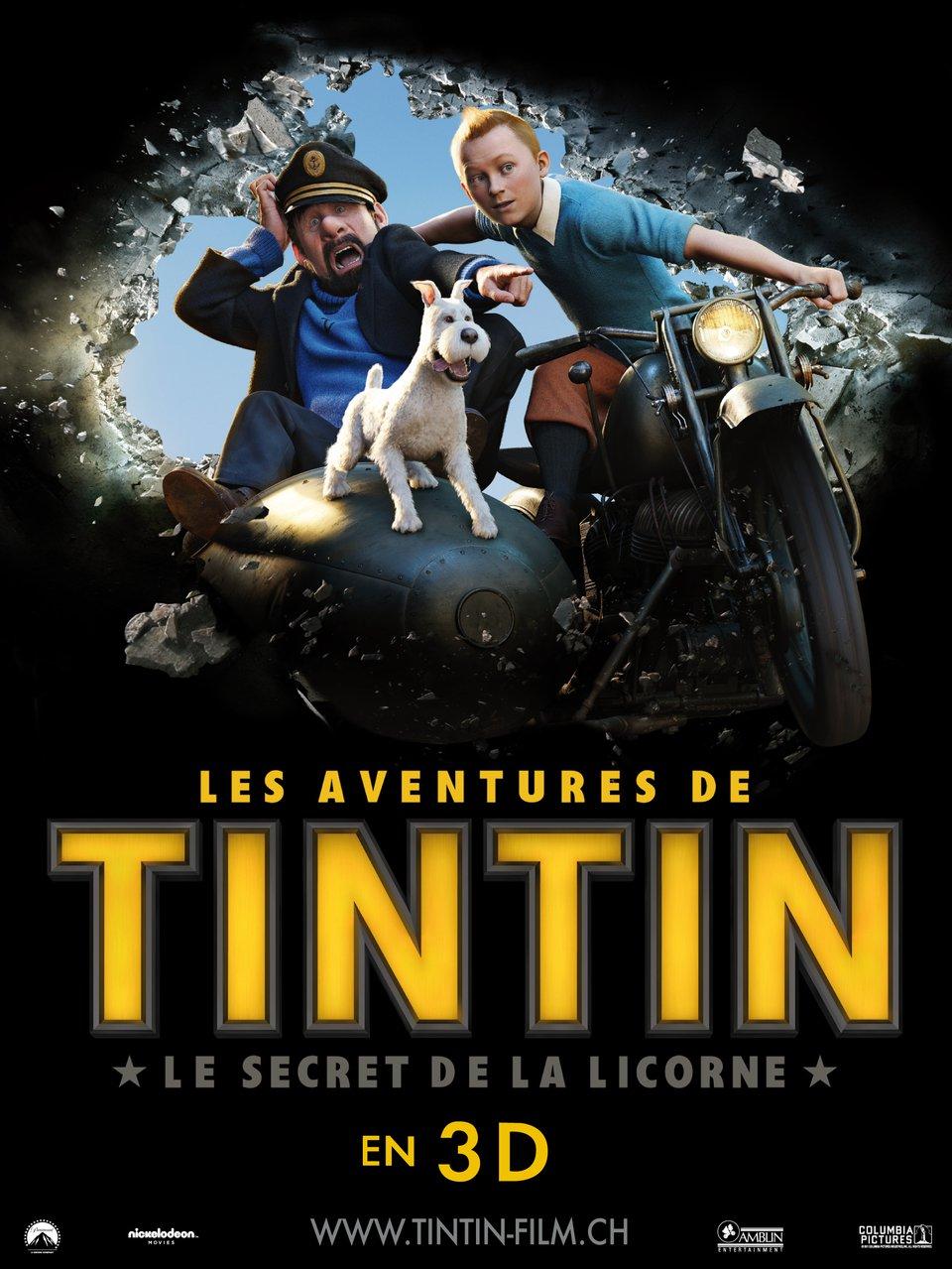 Приключения тинтина тайна единорога 2 18 фотография
