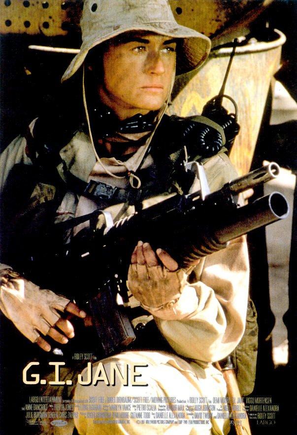 Постер Солдат Джейн