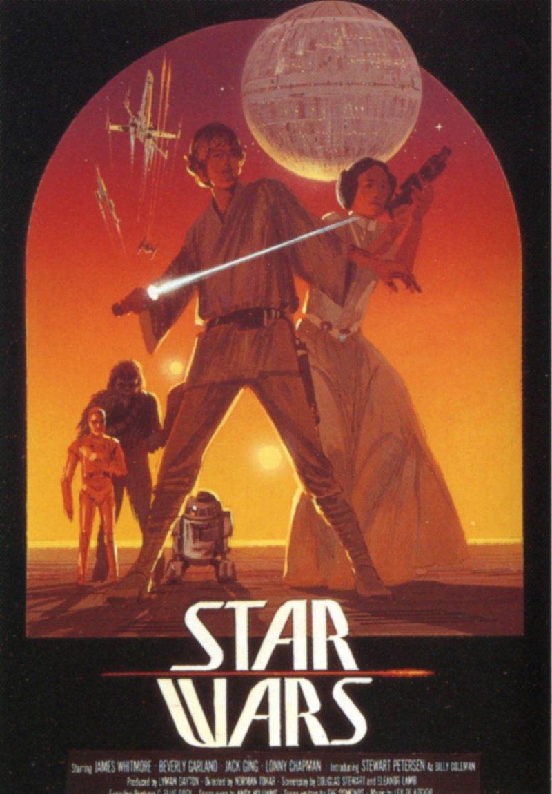 Все постеры звездные войны эпизод 4