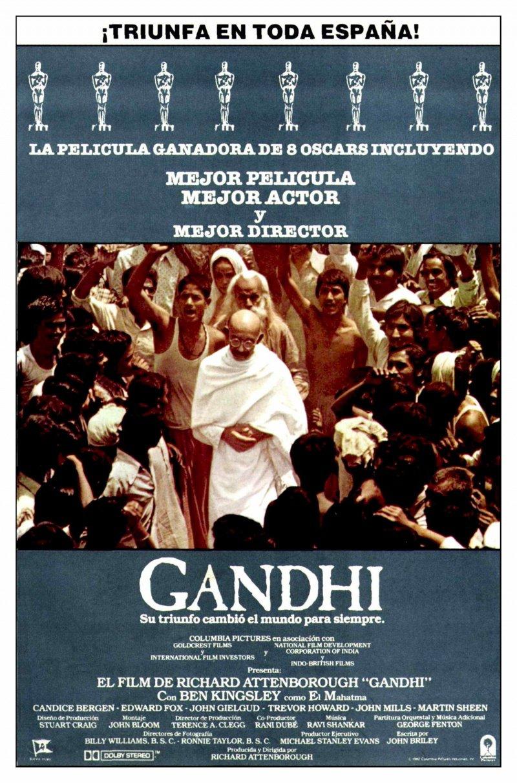 Кадры из фильма «Ганди» / 1982
