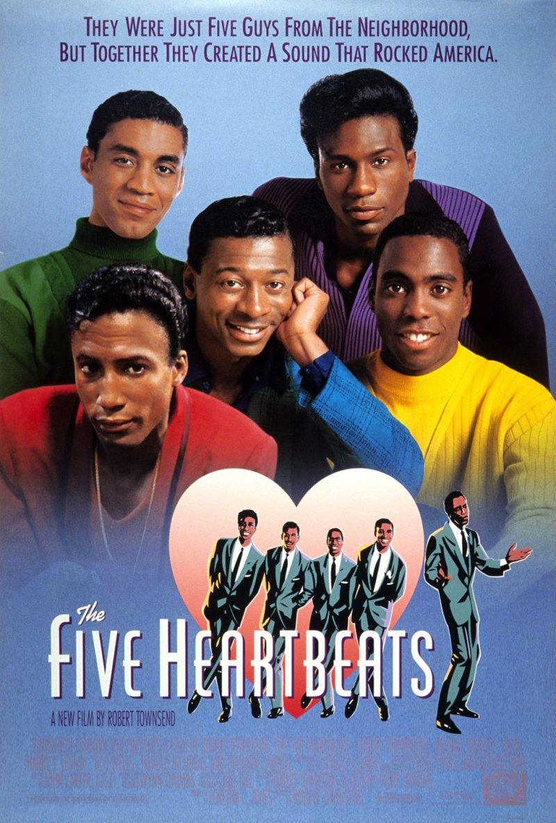 Постер Пять горячих сердец