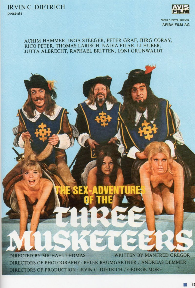 Эротические приключения трех мушкетеров смотреть онлайн 6 фотография