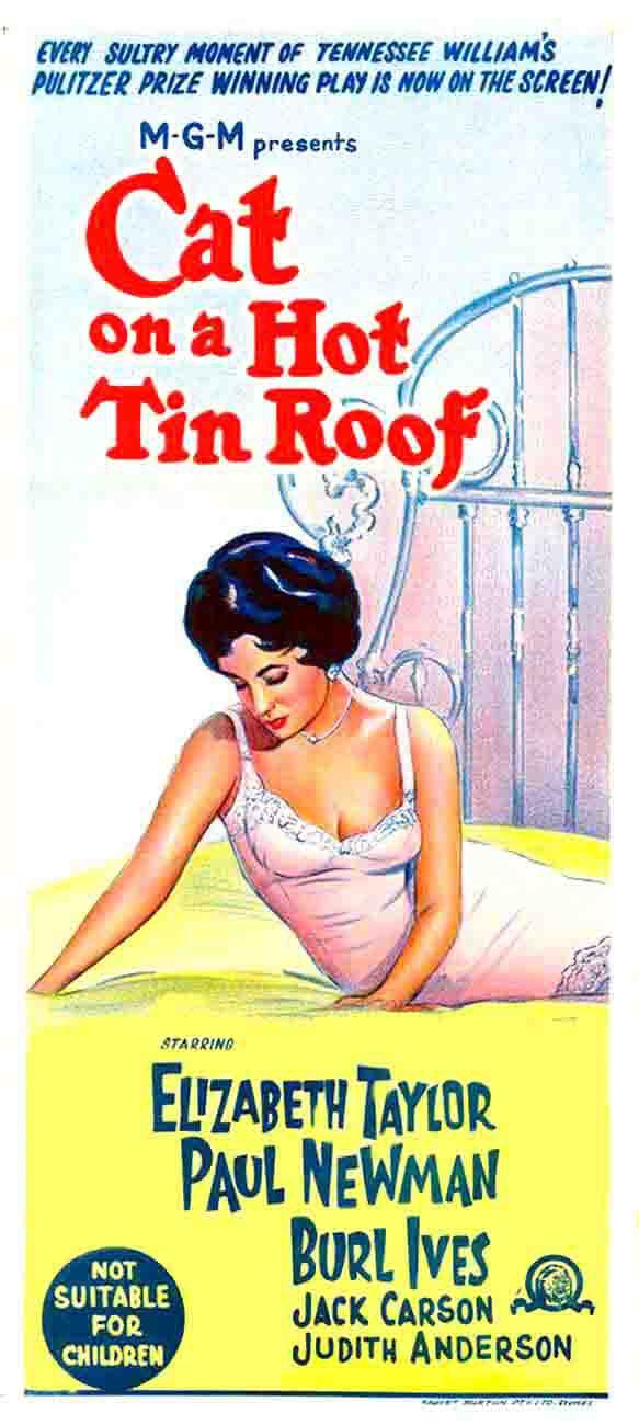 «Кошка На Раскаленной Крыше» — 1958