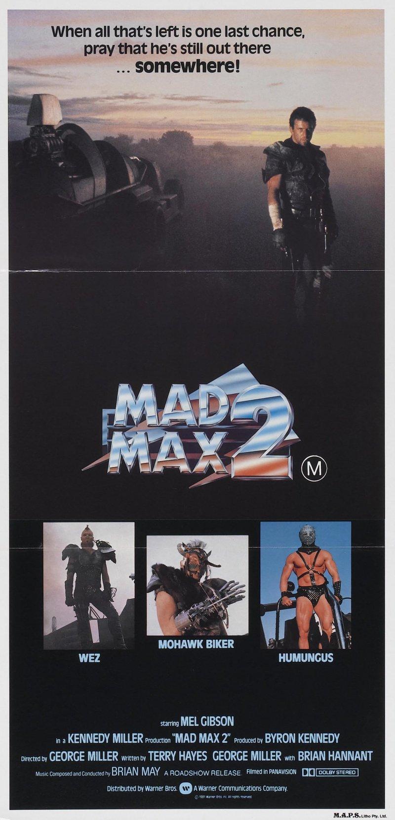 «Безумный Макс 2: Воин Дороги» / 1981