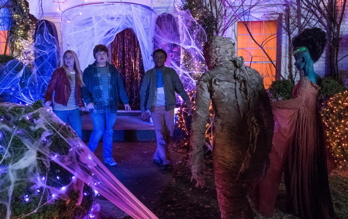 рецензия на фильм «Ужастики 2: Беспокойный Хэллоуин»