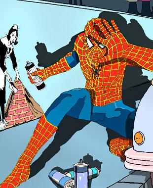 Супергерои под прицелом папарацци