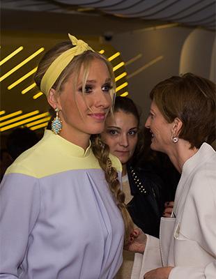 Открытие Ukrainian Fashion Week 2014 и премьера «Святого Лорана» в Киеве