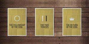 Постеры в минималистистическом стиле