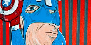 Супергерои в стиле Пикассо