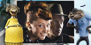 Снежана Егорова в «Монстрах на каникулах»: «Завидую артистам, которые работают на дубляжах»