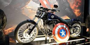 Кино и тачки: лучшие авто и байк Капитана Америка
