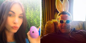 Звезды в соцсетях: Пасха, юбилей Дауни и счастье Нины Добрев