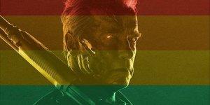 Звезды в соцсетях: ЛГБТ-Терминатор, звезда для Человека-муравья и поцелуй акулы