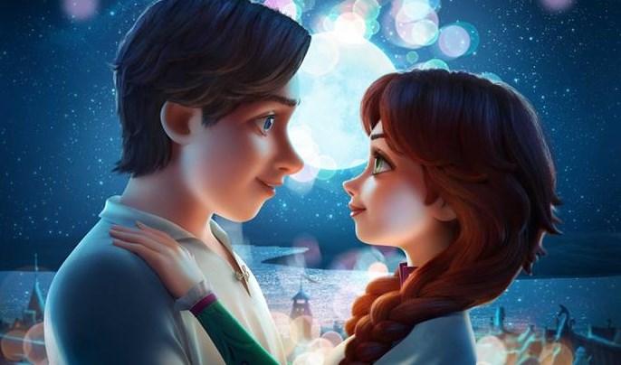 фрагмент постера мультфильма «Украденная принцесса: Руслан и Людмила»