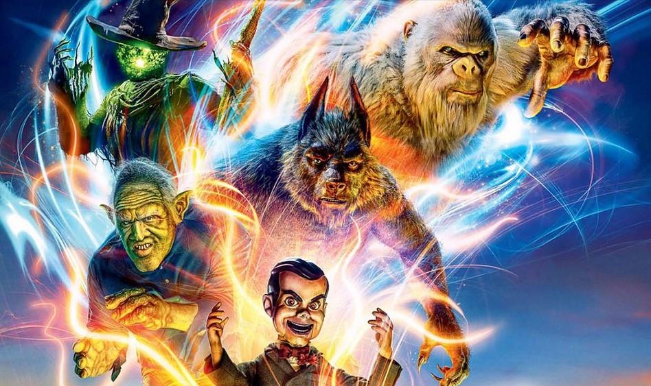 фрагмент постера к фильму «Ужастики 2: Беспокойный Хэллоуин»