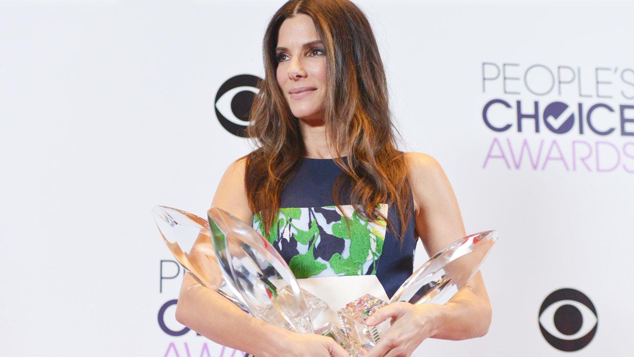 Сандра Буллок на церемонии вручения People's Choice Awards
