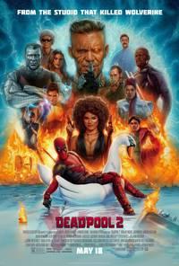 Постер Дэдпул2