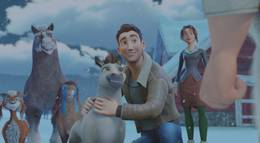 """Кадр из фильма """"Эллиот – самый маленький олень Санты"""" - 2"""