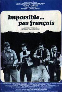 Постер Невозможный французский шаг