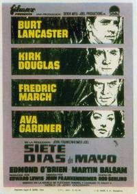 Постер Семь дней в мае