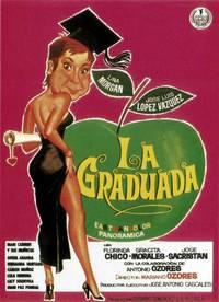 Постер La graduada