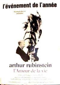Постер Артур Рубинштейн – Любовь к жизни