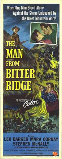 Постер The Man from Bitter Ridge