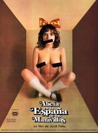 Постер Алиса в испанской Стране Чудес