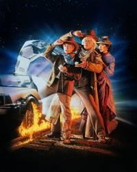 Постер Назад в будущее 3