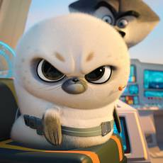 "Кадр из фильма ""Пингвины Мадагаскара"" - 2"