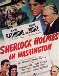 """Постер из фильма """"Шерлок Холмс в Вашингтоне"""" - 1"""