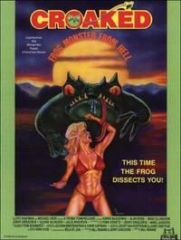 Постер Кваканье: Лягушка-монстр из ада