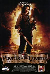 Постер Пираты Карибского моря: Проклятие Черной жемчужины