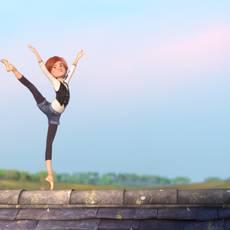 "Кадр из фильма ""Балерина"" - 1"