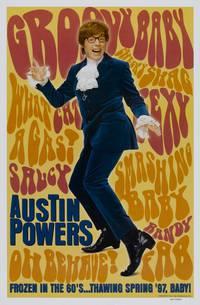 Постер Остин Пауэрс: Человек-загадка международного масштаба