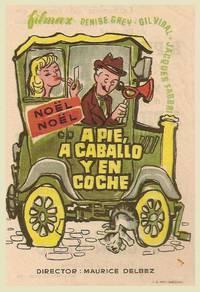 Постер Пешком, верхом и на машине
