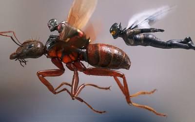 Человек-муравей и другие супергерои-букашки